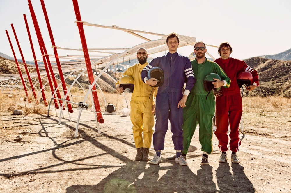 OK Go. How do you make a car play rock and roll?