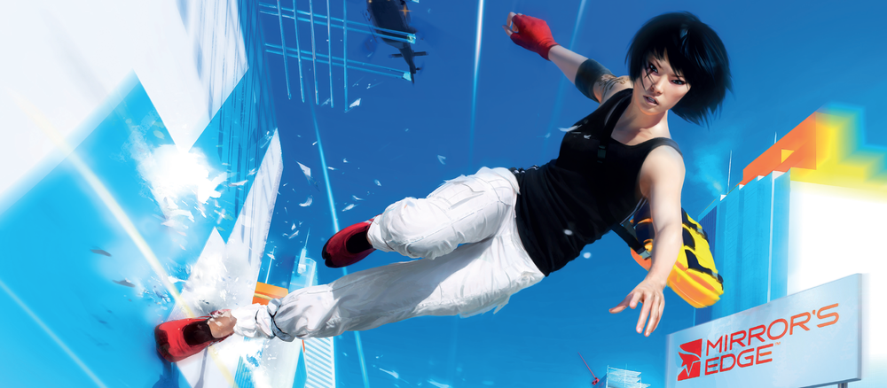 Mirror's Edge. There's No Looking Back