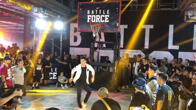 Nike Battle Force Manila Check out #BattleForceLive highlight stories  @slamonlineph @myxph @purveyr #GoBBHGo
