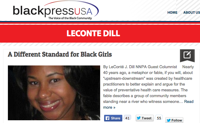 click here  to read the article in black press usa- 2.16/15