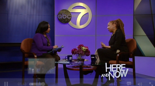 click here   to see the interview on abc's here & now- 2/22/15