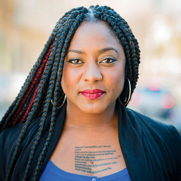 Alicia Garza Director of Special Projects at the National Domestic Workers Alliance. Co-Founder of Black Lives Matter Movement