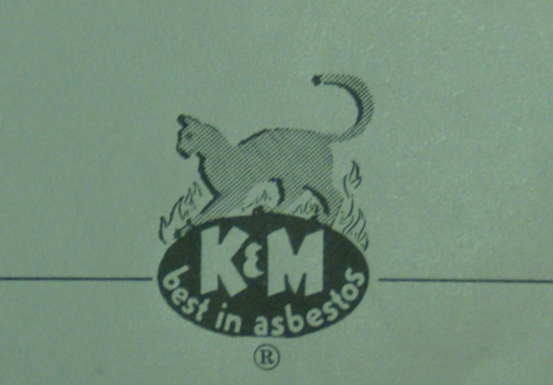 Keasbey and Mattison logo, advertisement, 1950.   American Lumberman and Building Products Merchandiser , July 1, 1950.  Wissahickon Valley Historical Society.