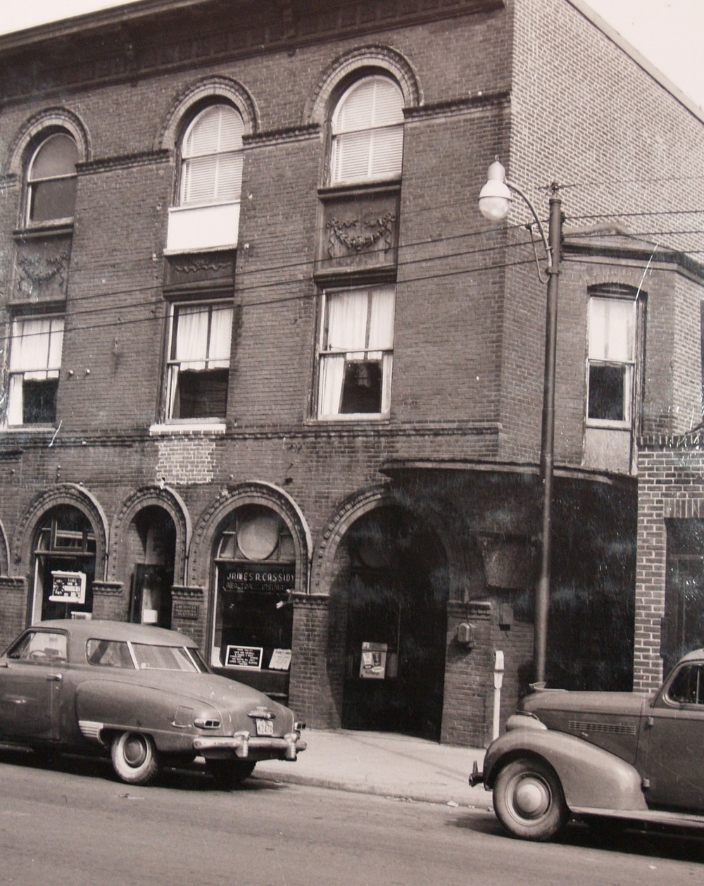 Ambler Gazette  building, ca. 1940s.   Newton Howard Photograph Collection, Historical Society of Montgomery County.