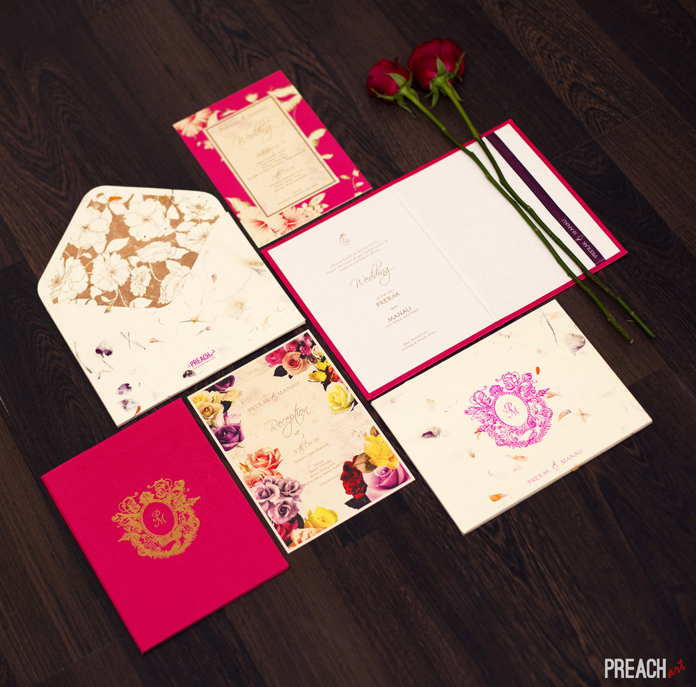 Wedding Invitation Design Prerak & Manali Ahmedabad.jpg