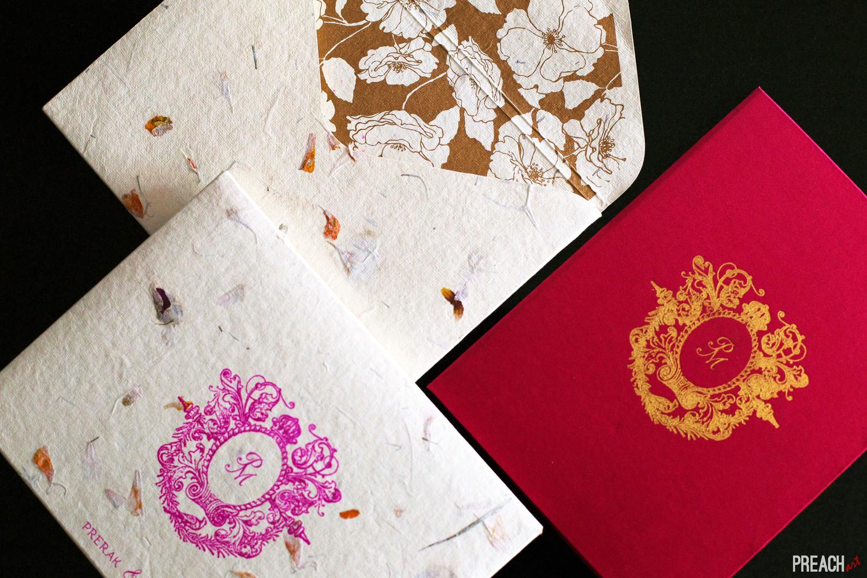 Couture Wedding Invites - Floral — Preach Art
