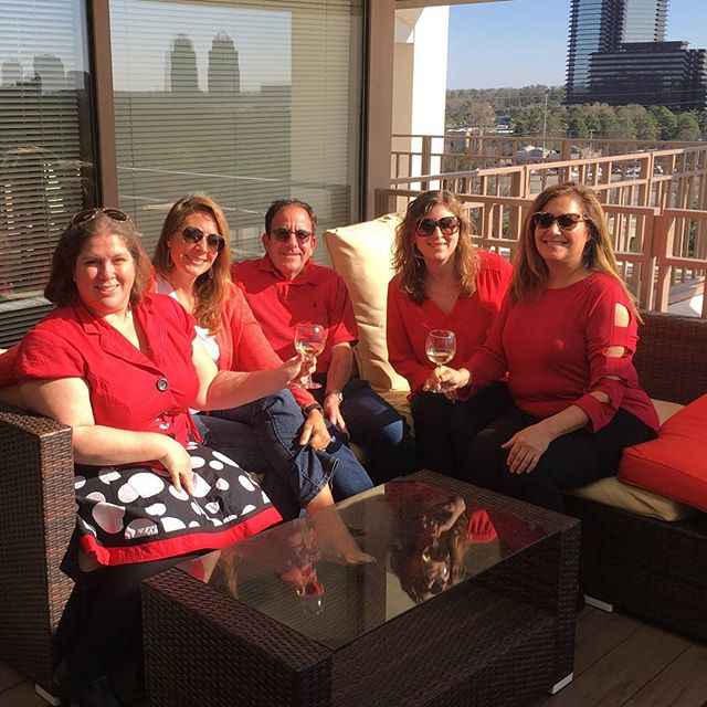 As a predominantly female business, we couldn't pass up celebrating #internationalwomensday in red!  #rDrocks