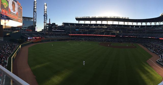 Couldn't ask for a better night to be at the ballpark