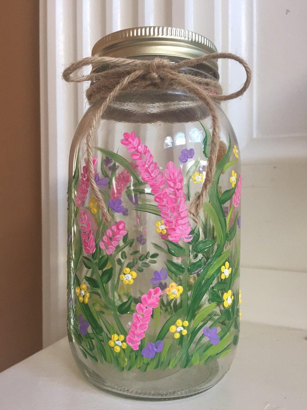 Flower Mason Jar.JPG