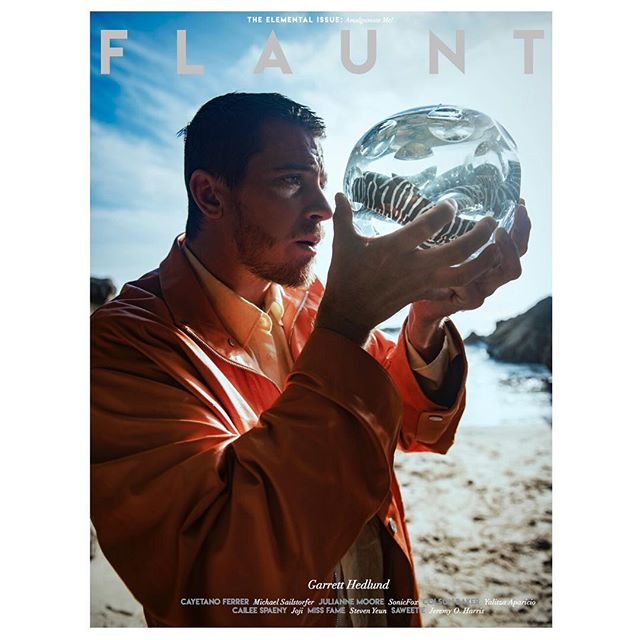 #Repost @flauntmagazine ・・・ Presenting our cover with #GarrettHedlund from #TheElementalIssue #164 See his full editorial online at Flaunt.com and purchase the magazine (link in bio) ⠀⠀⠀⠀⠀⠀⠀⠀⠀ @HERMES jacket, @VICTOR_LI_OFFICIAL shirt, and @BACCARAT crystal. ⠀⠀⠀⠀⠀⠀⠀⠀⠀ Photographer: @imorrison @opusreps Stylist: @mrmontyjackson @starworksartists Groomer: @dianaschmidtke1 using Sombra Sunscreen at @artdeptagency ⠀⠀⠀⠀⠀⠀⠀⠀⠀ #flauntmagazine #flaunt #flauntdotcom #netflix @netflix #triplefrontier @triplefrontier #hermes #victorli #baccarat