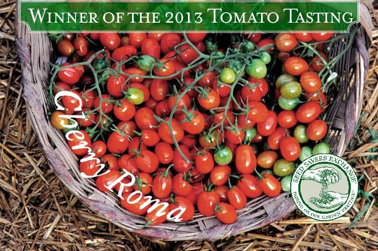 2013 Tomato Tasting Winner