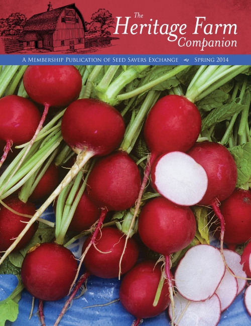 Spring 2014 edition of The Heritage Farm Companion