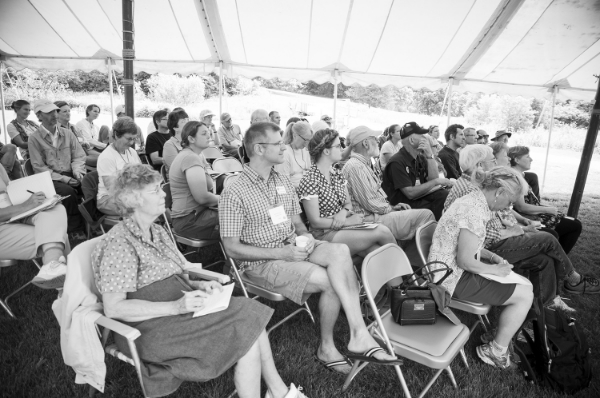 Attendees at Seed Savers Exchange's 2014 Conference and Campout learn the art of seed saving and hear from distinguished key-note speakers.
