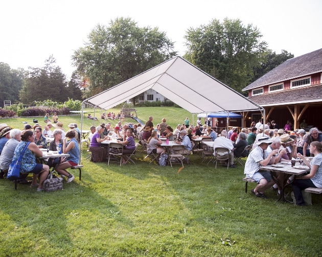 Sign-up for meals at Heritage Farm
