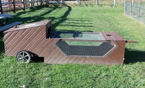 deep mulch gardening, chicken tractors: putting poultry to work in your garden — seed, Design ideen