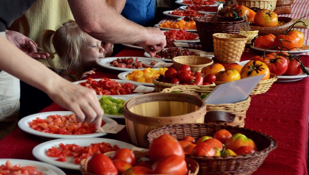 Our annual Tomato Tasting will be held at Seed Savers Exchange Saturday, August 3rd from 1-4 pm.