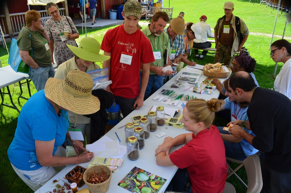 Seed swaps provide opportunities to meet local gardeners, find new seeds, and pick up growing tips.