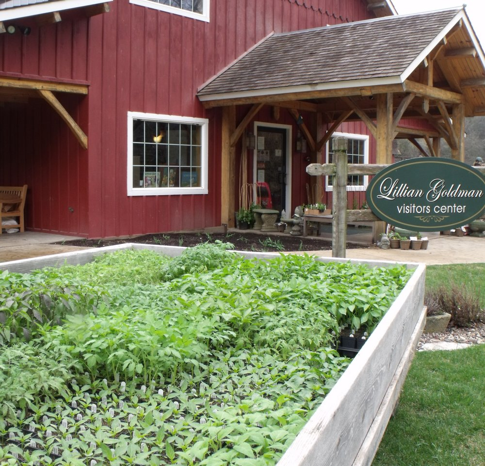 on April 1, the Lillian Goldman Visitors Center will start selling prairie plants and fruit trees. The center will introduce more  plant varieties  throughout april and into may for purchase by heritage Farm visitors.