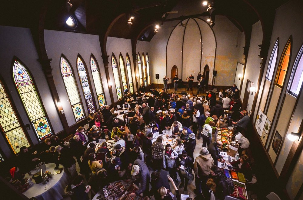 Seed savers flock to the Cleveland Seed Bank's annual winter seed swap, held at St. John's Episcopal Church.