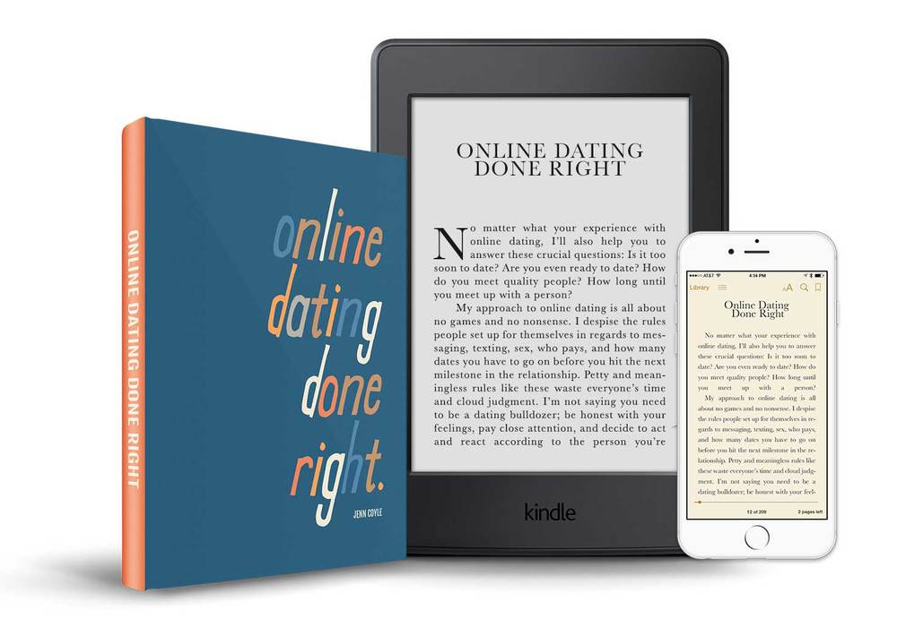 Online Dating Done Right book by Jenn Coyle