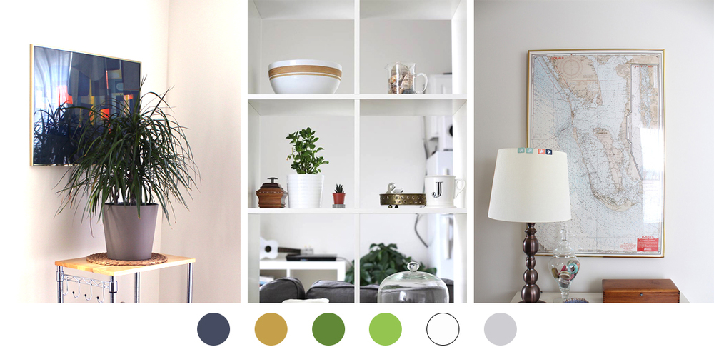 Find your perfect color palette for your blog in your home decor