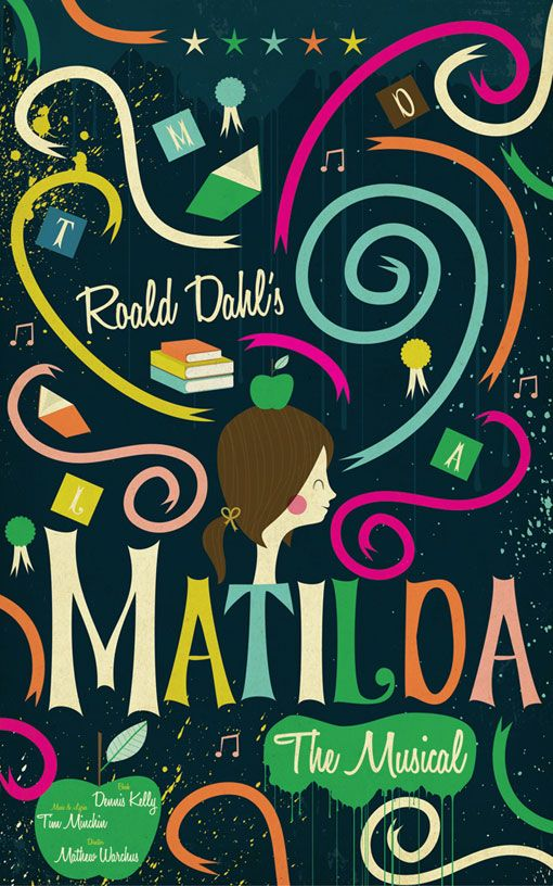Matilda poster by Andrew Bannecker