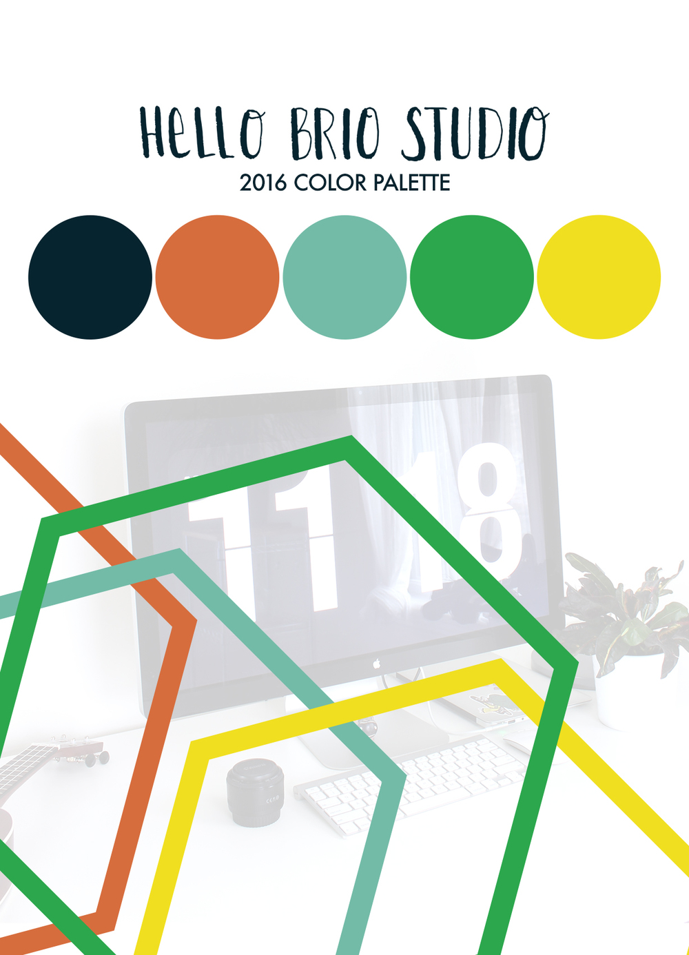 Click through to find out the story behind the new Hello Brio Studio 2016 Color Palette!