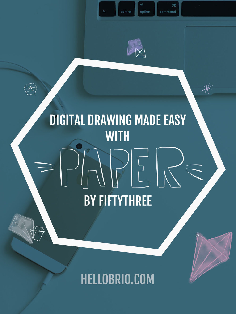 Digital drawing made easy with your iPhone or iPad and the free app, Paper by FiftyThree