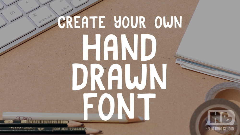 Paper to Digital: Create Your Own Hand Drawn Font with Jenn Coyle on Skillshare