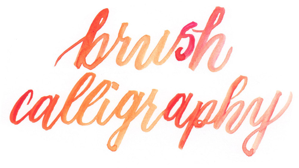 Learn Brush Lettering Hello Brio Studio