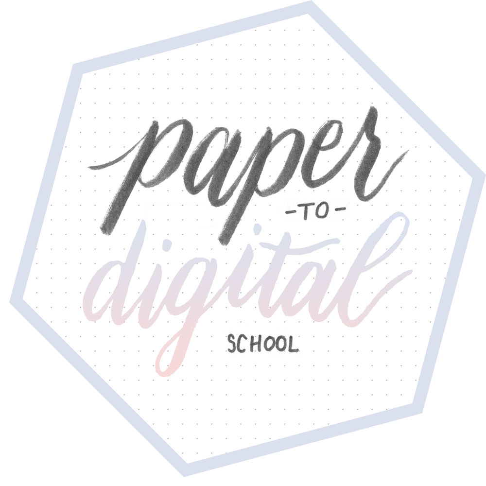 Paper to Digital School - Art and Illustration vectorizing courses on hellobrio.com