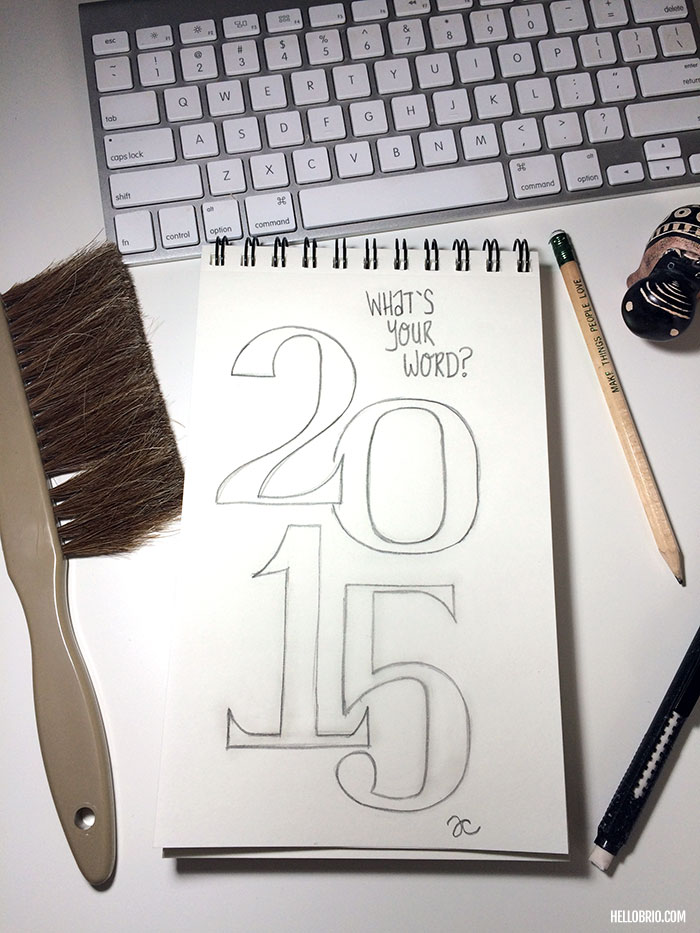 What's your word for 2015?