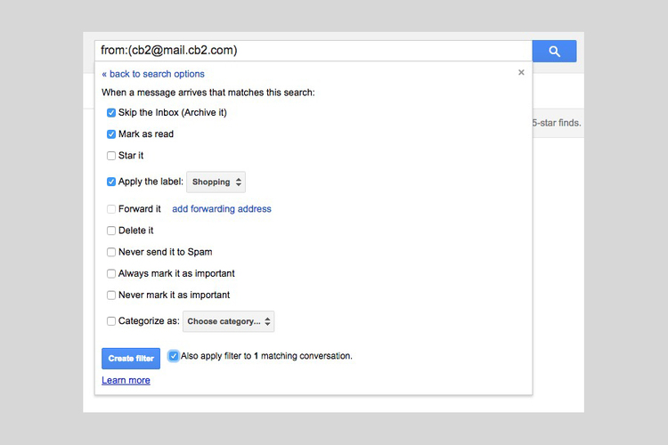 Use filters in gmail to help sort email you don't need to see day to day—the ultimate guide to managing your email efficiently