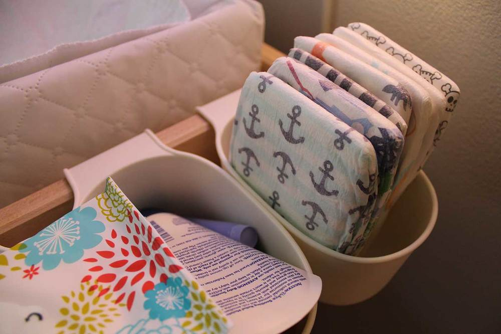 The Honest Co sample diapers