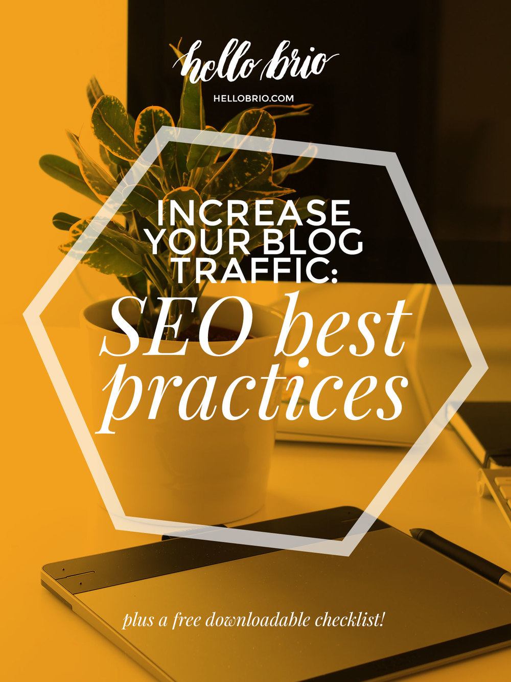 Increase your blog traffic with these 9 blog SEO best practices. Get a free downloadable checklist!