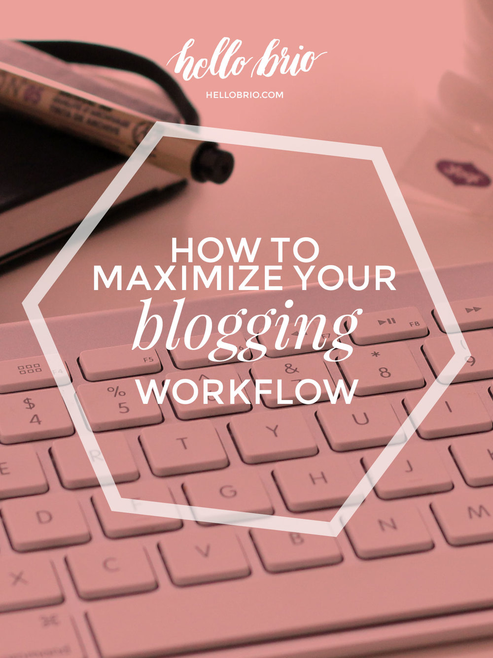 How to maximize your blogging workflow