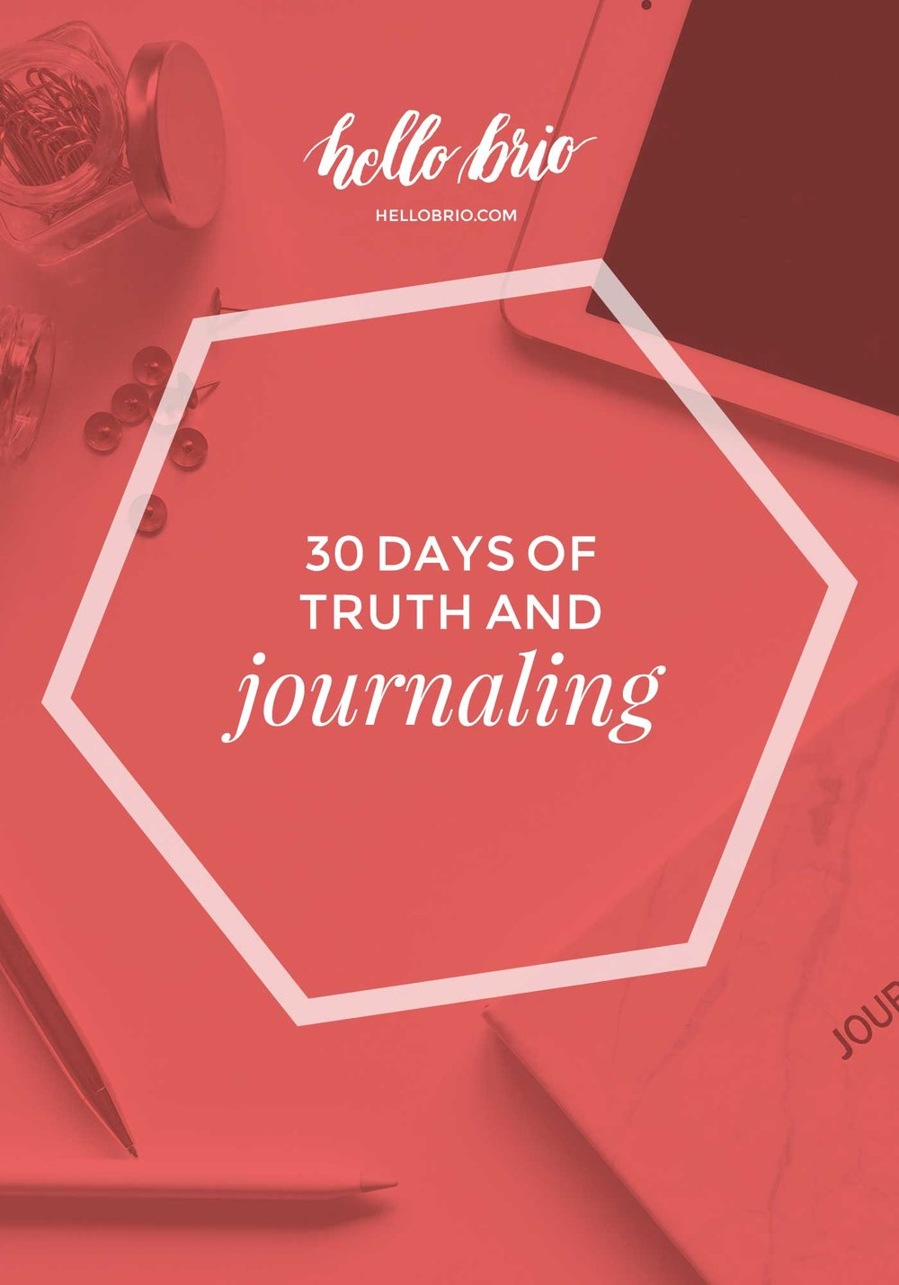 Journaling prompts | 30 days of truth
