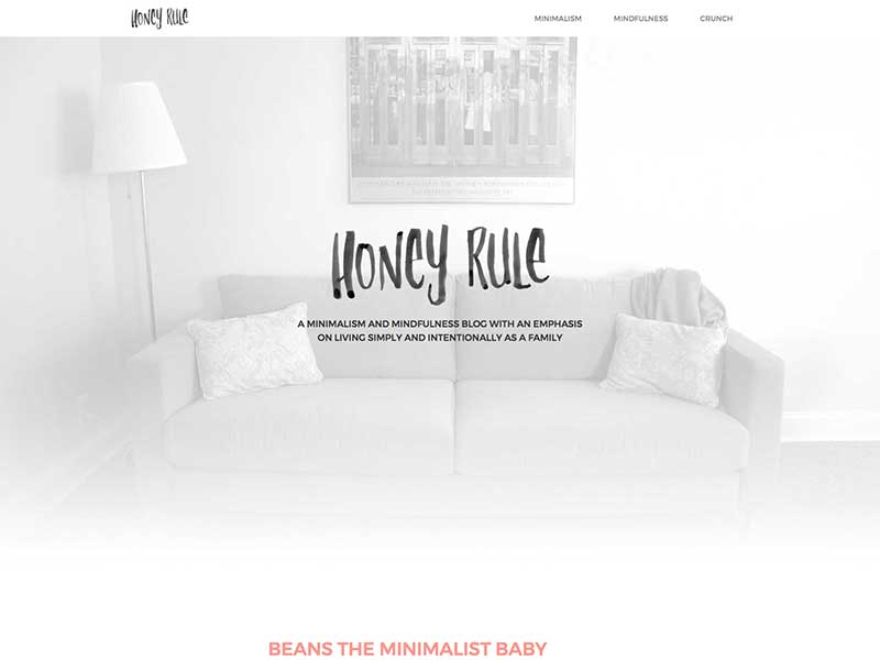 Honey Rule  was a custom WordPress build for my ethical and sustainable lifestyle blog. The design is minimal with a focus on hand-drawn touches.