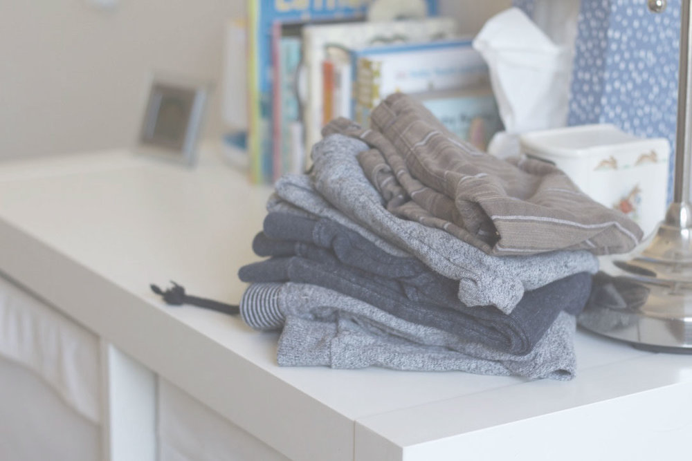 Beans stack of minimalist sweatpants for babies