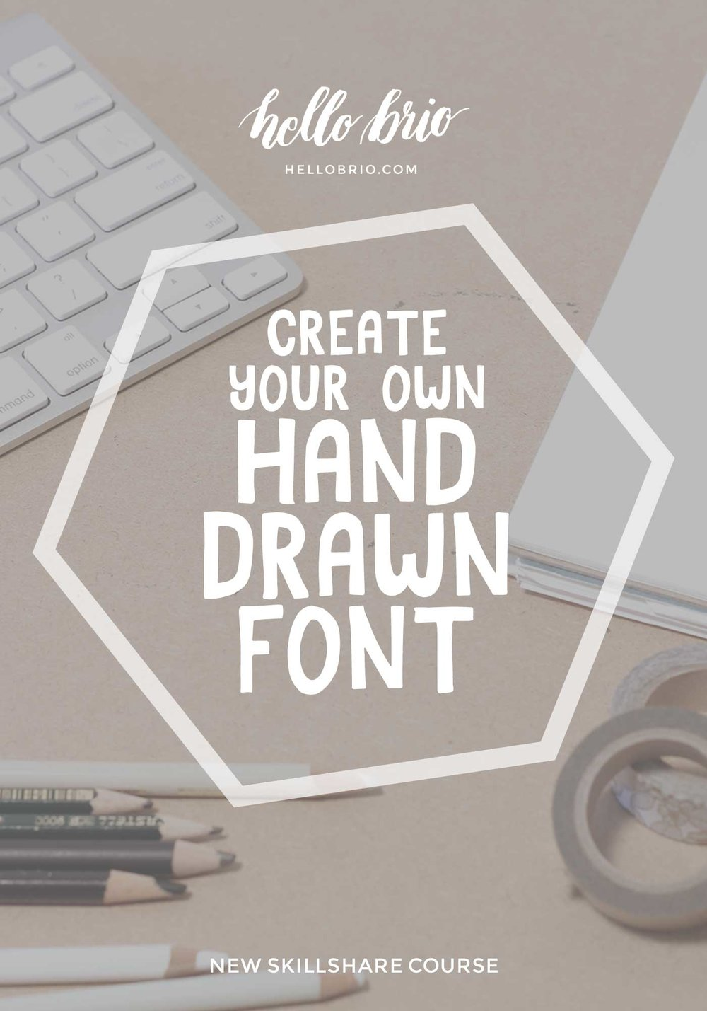 Create your own hand drawn font with Jennifer Coyle on Skillshare