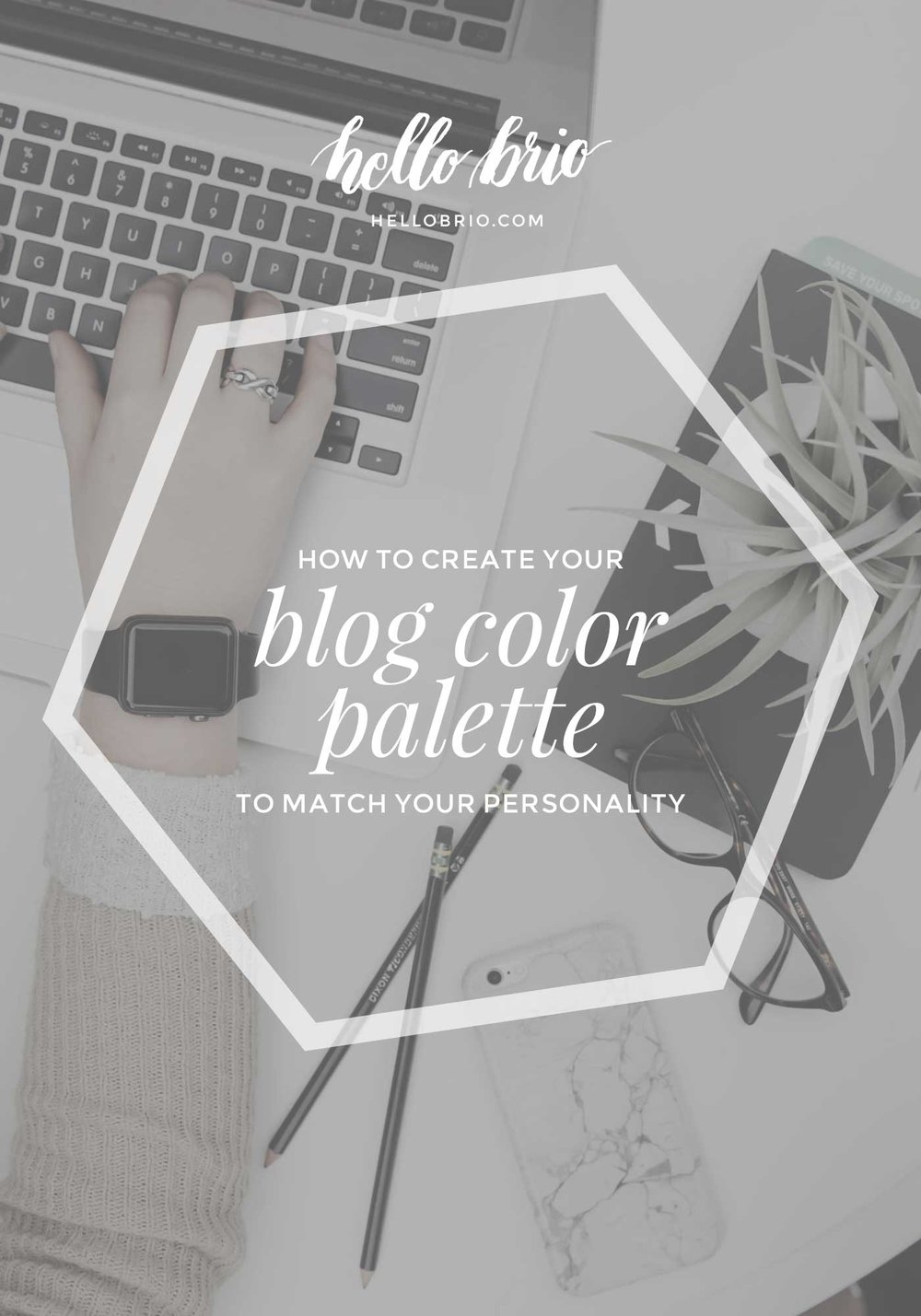 How to choose your blog's color palette so it matches your personality