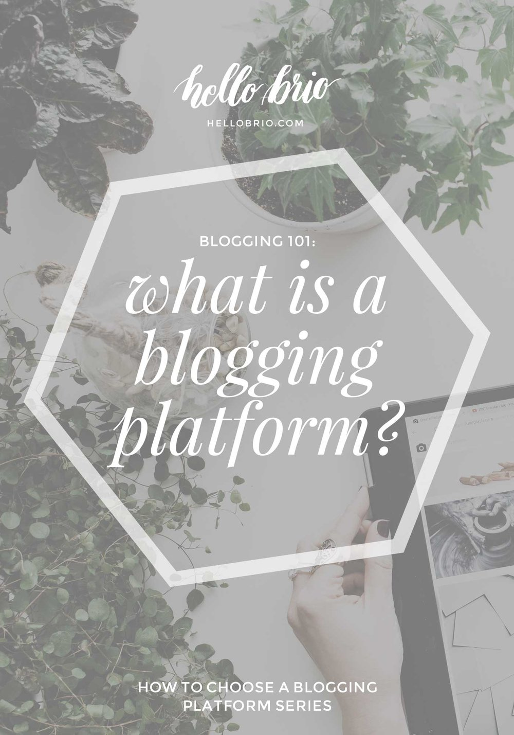 How to choose a blogging platform part 1: what is a blogging platform?