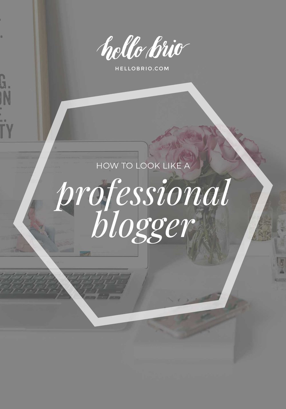 How to look like a professional blogger