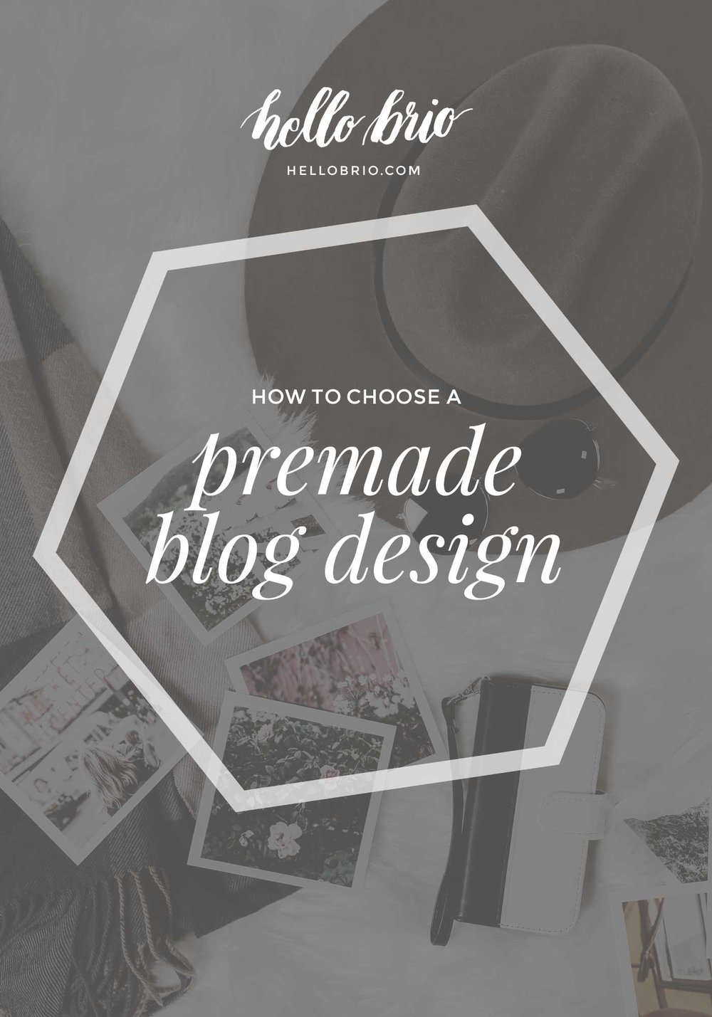 How to choose a premade blog design