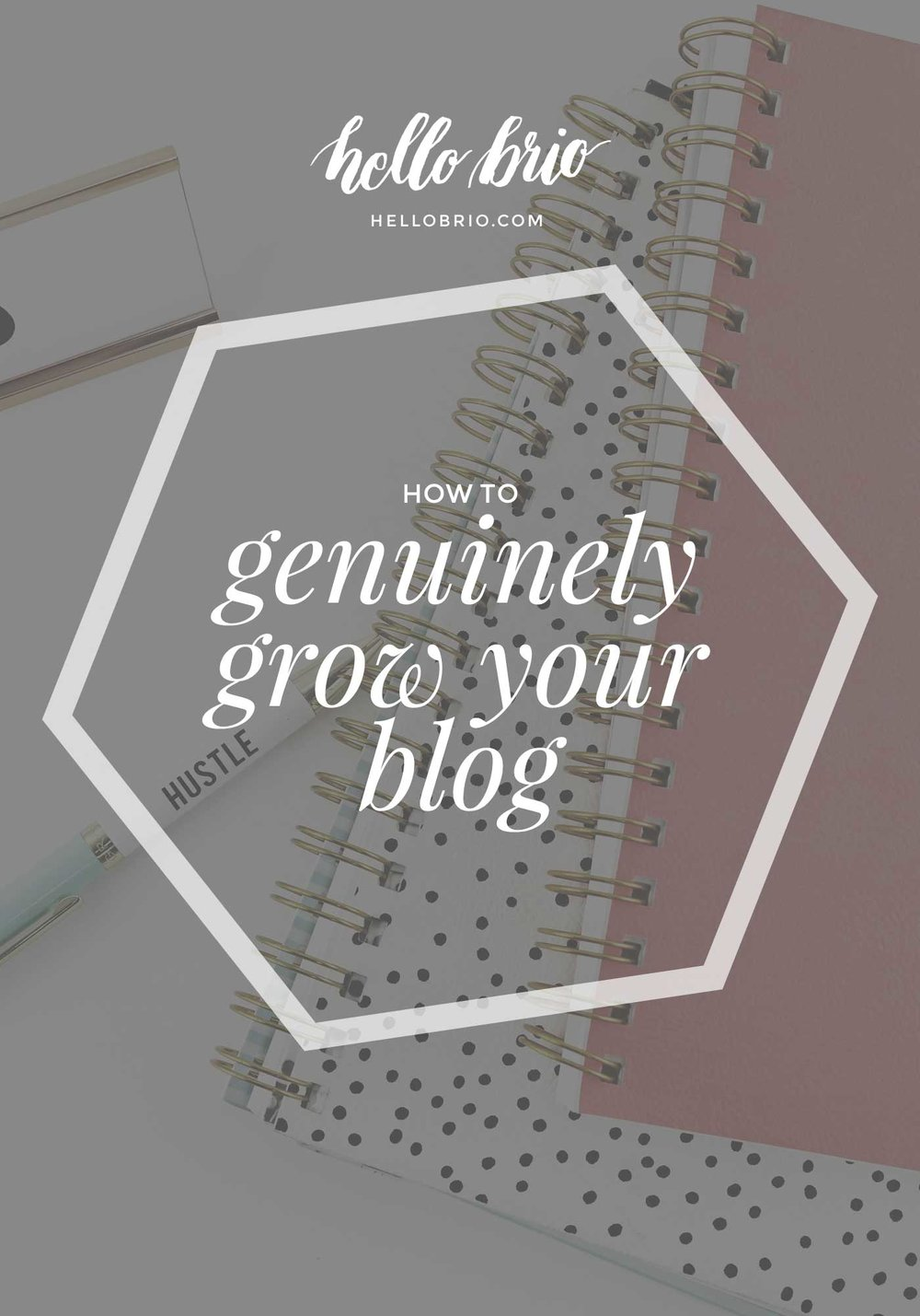 Tips to Genuinely Grow Your Blog - HelloBrio.com