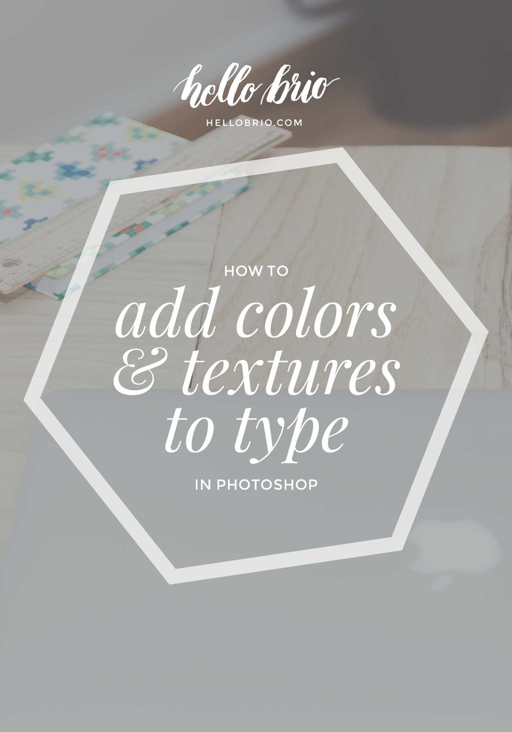 Learn How to Add Color and Texture to Your Type and Hand Lettering