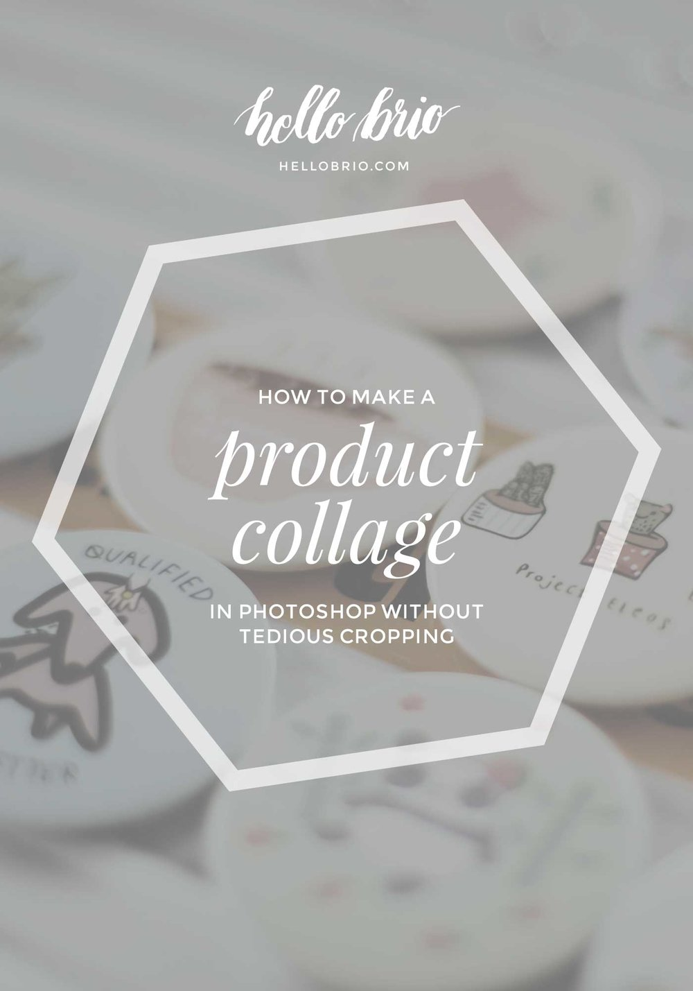 How to create your own product collage in Photoshop quickly and easily