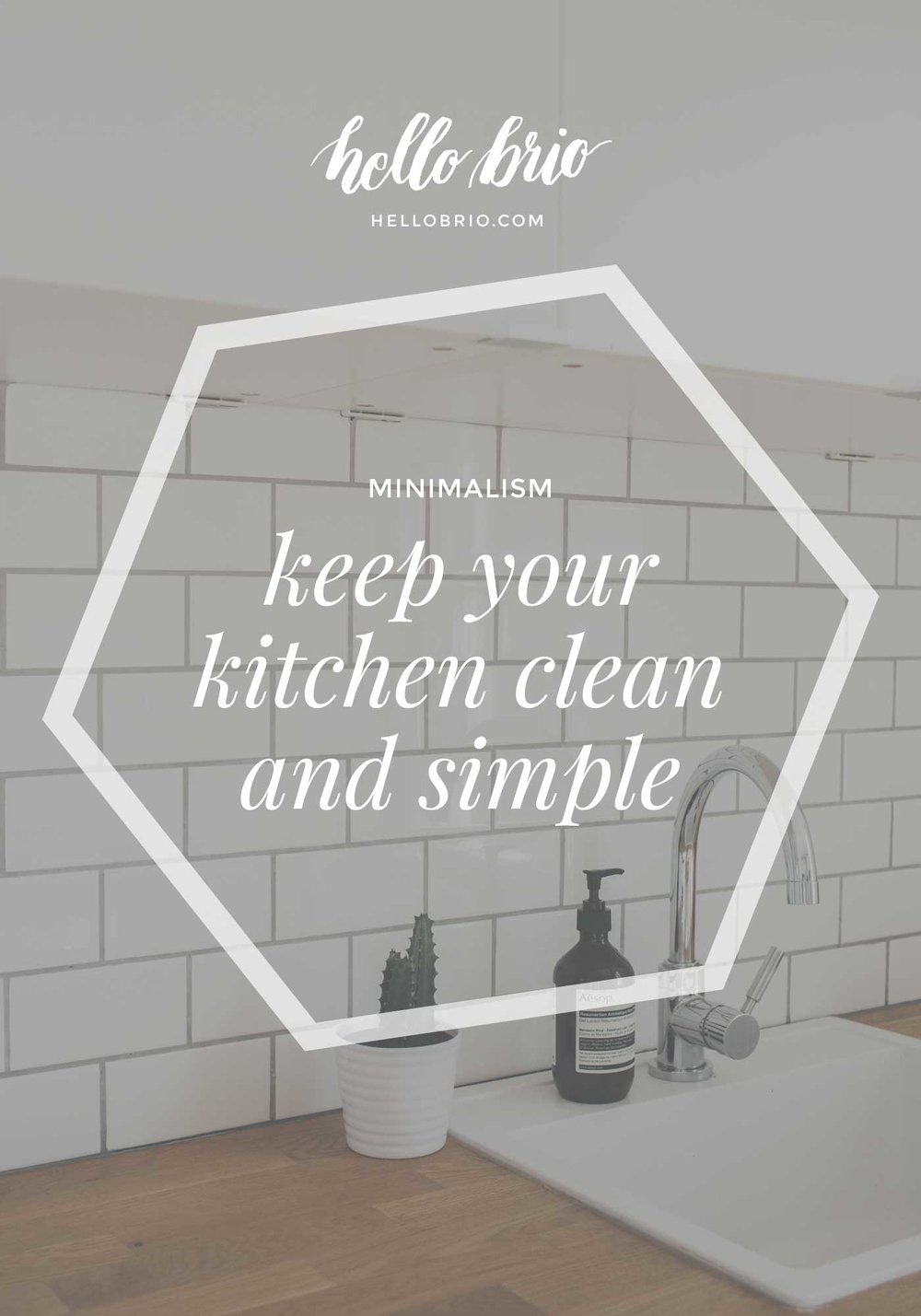 How to keep your kitchen clean and simple