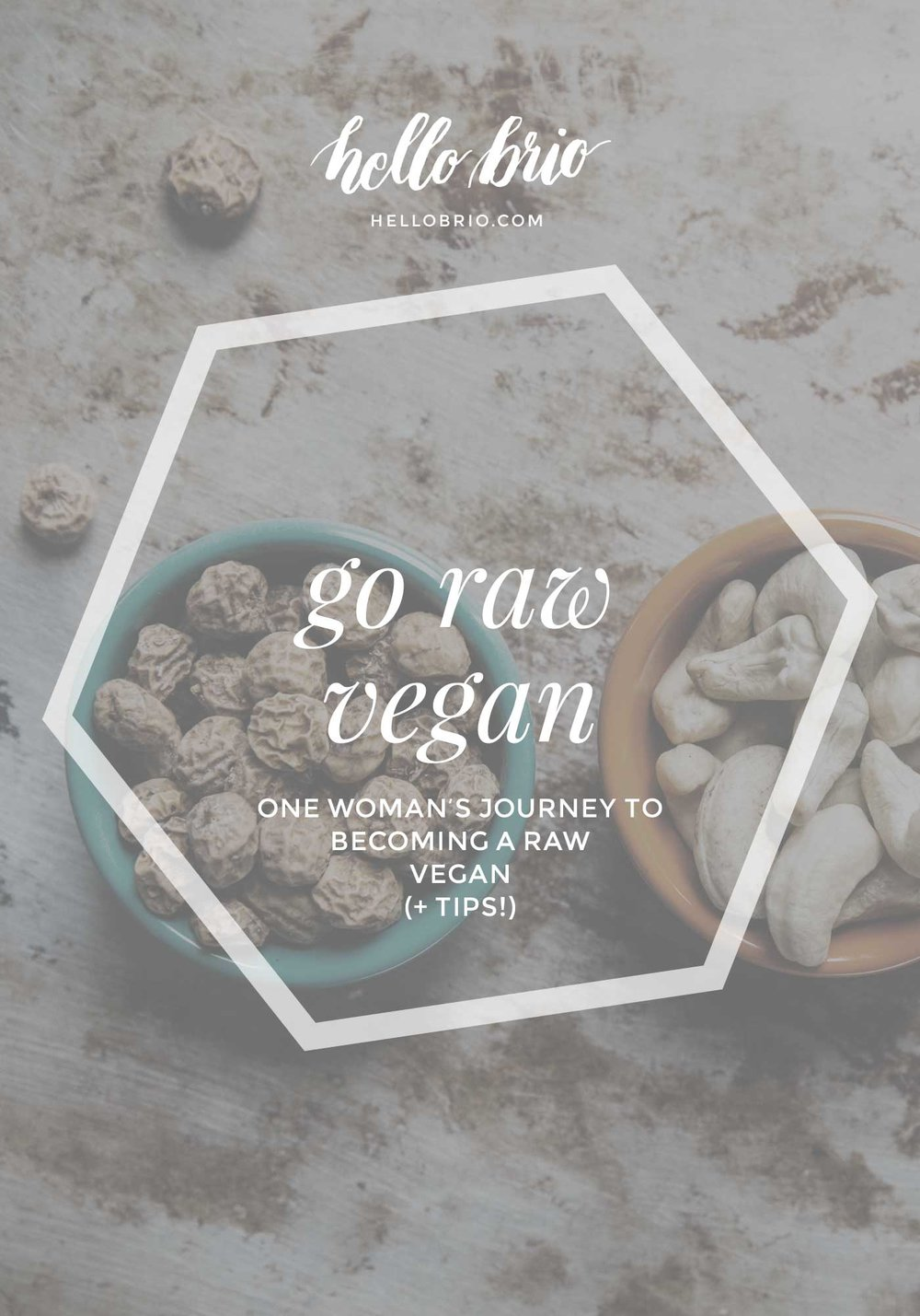 Become a raw vegan: One woman's journey to becoming a raw vegan plus tips | Hello Brio