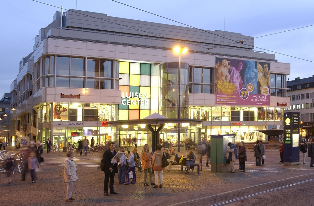 Luisencenter, Darmstadt 25.560m²